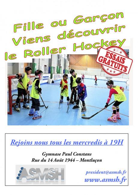 Découvrir le Roller Hockey